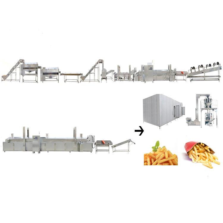 Automatic Sweet potato fries processing line wholesale agent