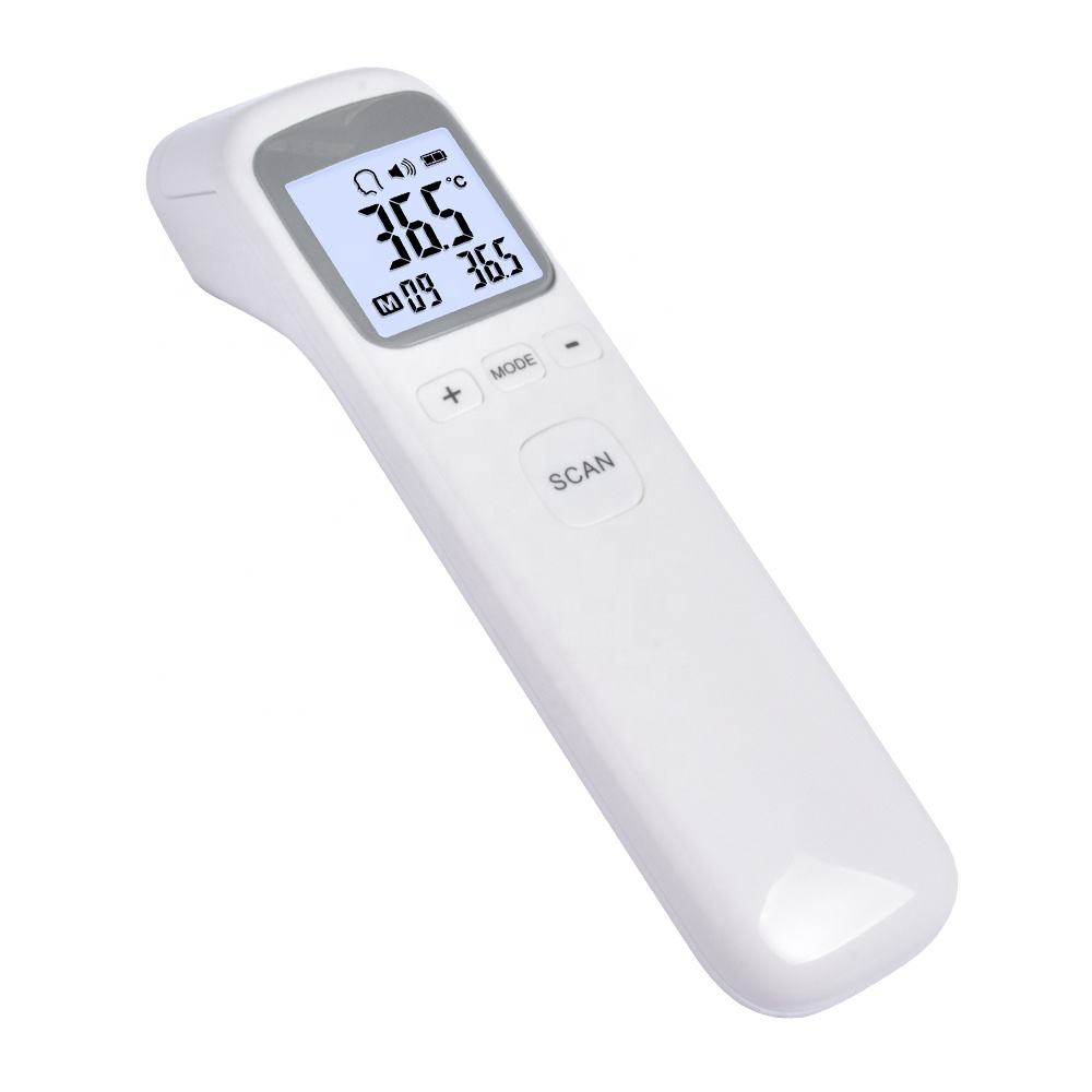 2020 Body Temperature Digital Infrared Thermometer Gun Fever Measure Adult Kids Forehead Non contact LCD IR Thermometer