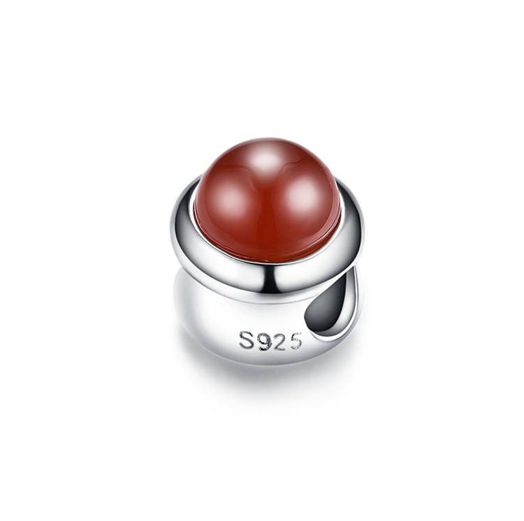 925 Sterling Silver Best Price Custom Gemstone Silvver Tiger Eye Stone Charm Multi Color Jewelry