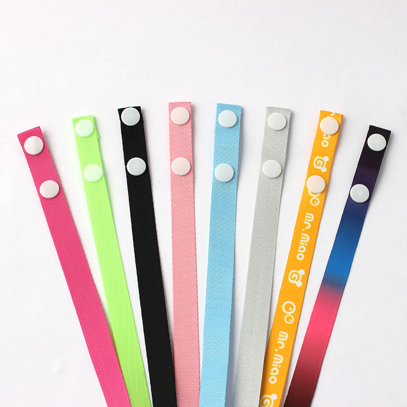 Factory custom adjustable face maskes neck strap landyard lanyard for facemask
