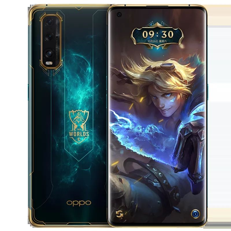 "Oppo bulmak için X2 S10 League of Legends Snapdragon 865 Android 10.0 6.7 ""OLED 120HZ 3168X1440 8GB RAM 256GB ROM 48.0MP 65W şarj"