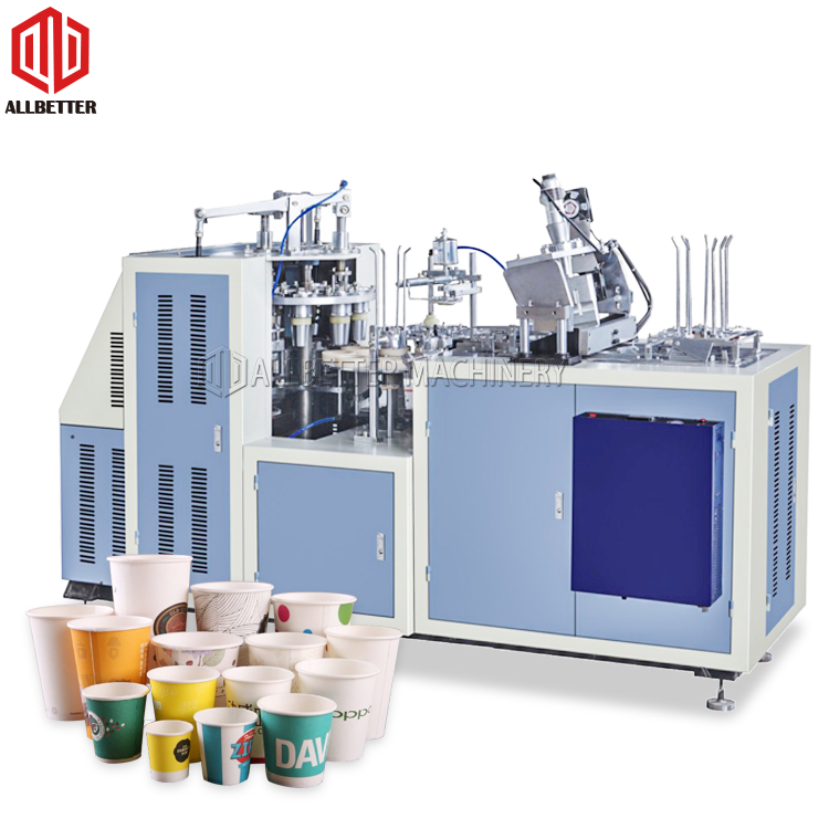 Cheap Price High Speed Automatic Forming Disposable Coffee Cold Drink Machine Paper Cup