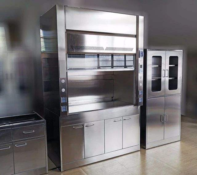 EAPOND HOT SALE Laboratory Furniture Stainless Steel Customized scientific fume hood