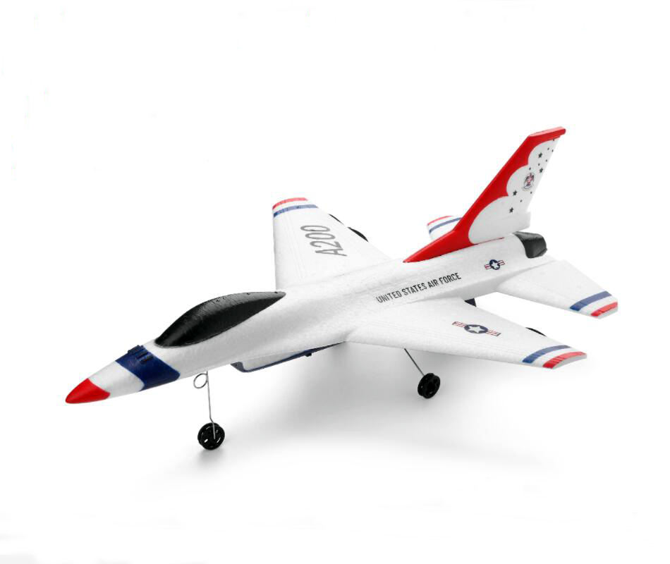 WLTOYS A200(F-16B) Fighting EPP Foam Glider Airplane Inertia Aircraft Toy Model Outdoor Sports Flying Toys for Kids