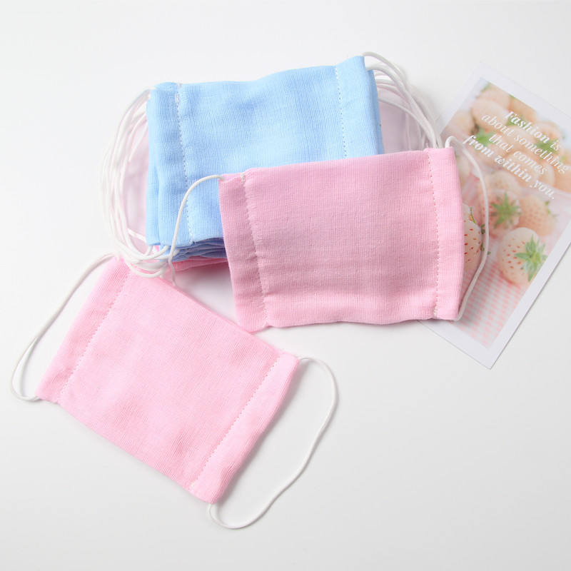1-6 Years Old Children Anti Dust Comfy Cotton Face Cover gauze FaceMask