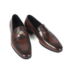 Vikeduo Hand Made Hollywood-Style Most Stylish Walking Shoes For Europe New Design Mens Penny Loafer