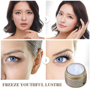 Hot Sale Private Label OEM Korean Beauty Cream Natural Organic Anti-freckle Snail Face Cream