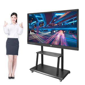 Conference meeting all in one smart 4k led lcd touch screen 86 75 inch intelligent interactive panel