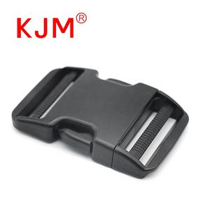 KJM Custom 50mm Plastic Webbing Safety Belt Buckle Parts for Backpack