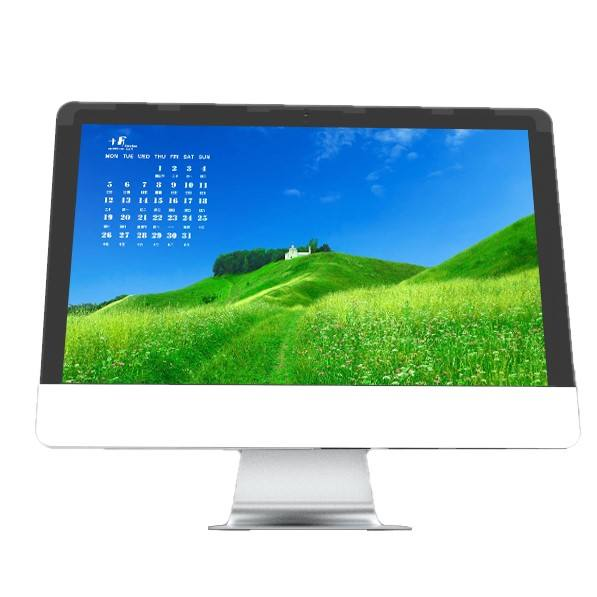 18.5 21.5 24 27 inch All in One PC intel corei3 i5 i7 Office & Home use Desktop Computer