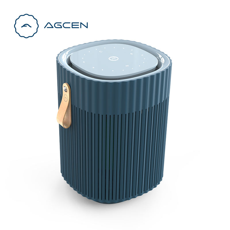 AGCEN Air Freshener Electric Dispenser Portable Hepa Filter Desktop PM2.5 Air Purifier Factory OEM Made Air Purifiers For USA