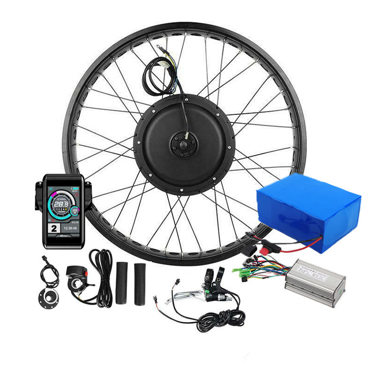 Kit bicicleta electrica 3000w electric bicycle kits electric bike conversion kit 72v made in China