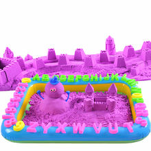 Advertising multifunction custom small inflatable sand table toy