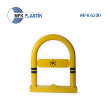 U SHAPE LOCKABLE BARRIER Security  Protection  Roadway Safety  Traffic Barrier traffic cone MFK