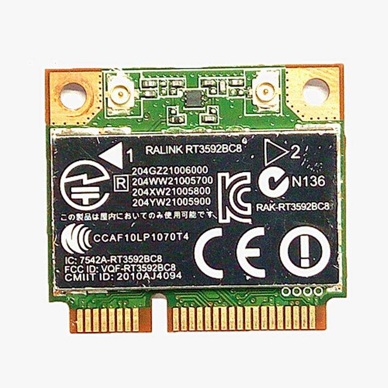 HP 255 G5 Wireless AC Bluetooth Card 802.11ac WiFi 3165NGW 806723-001
