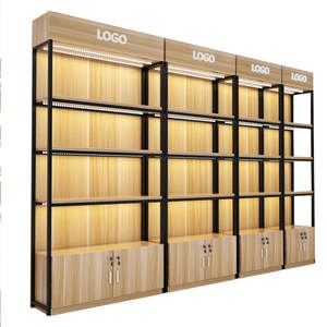 New Product Metal Wood Retail Pharmacy Store  Supermarket Display Shelves Estantes Para Tiendas%