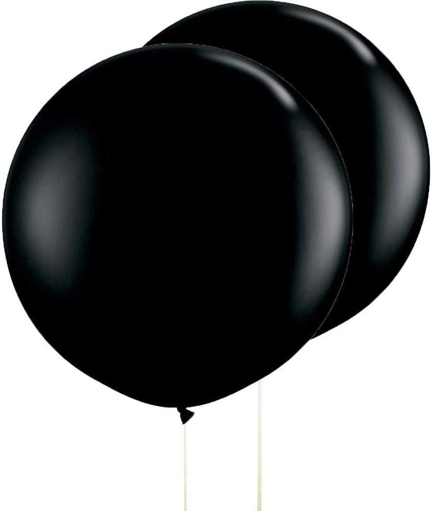 2020 Neuheiten Dicke runde schwarze Ballon Riesen Latex Luftballons 36 Zoll für Gender Reveal Surprise Party Dekorationen