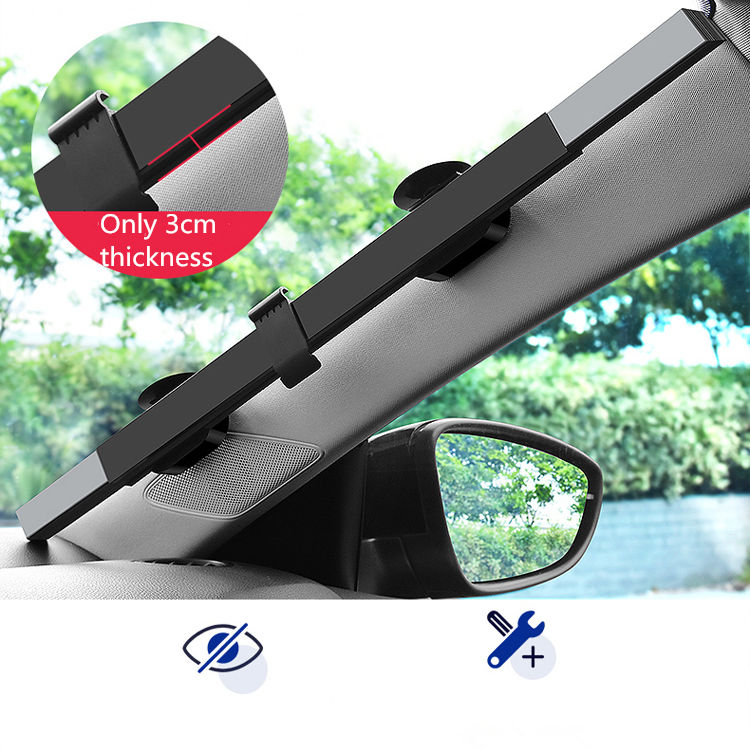 Reduce car inside temperature sun proof windshield shade retractable aluminium car curtain sunshade
