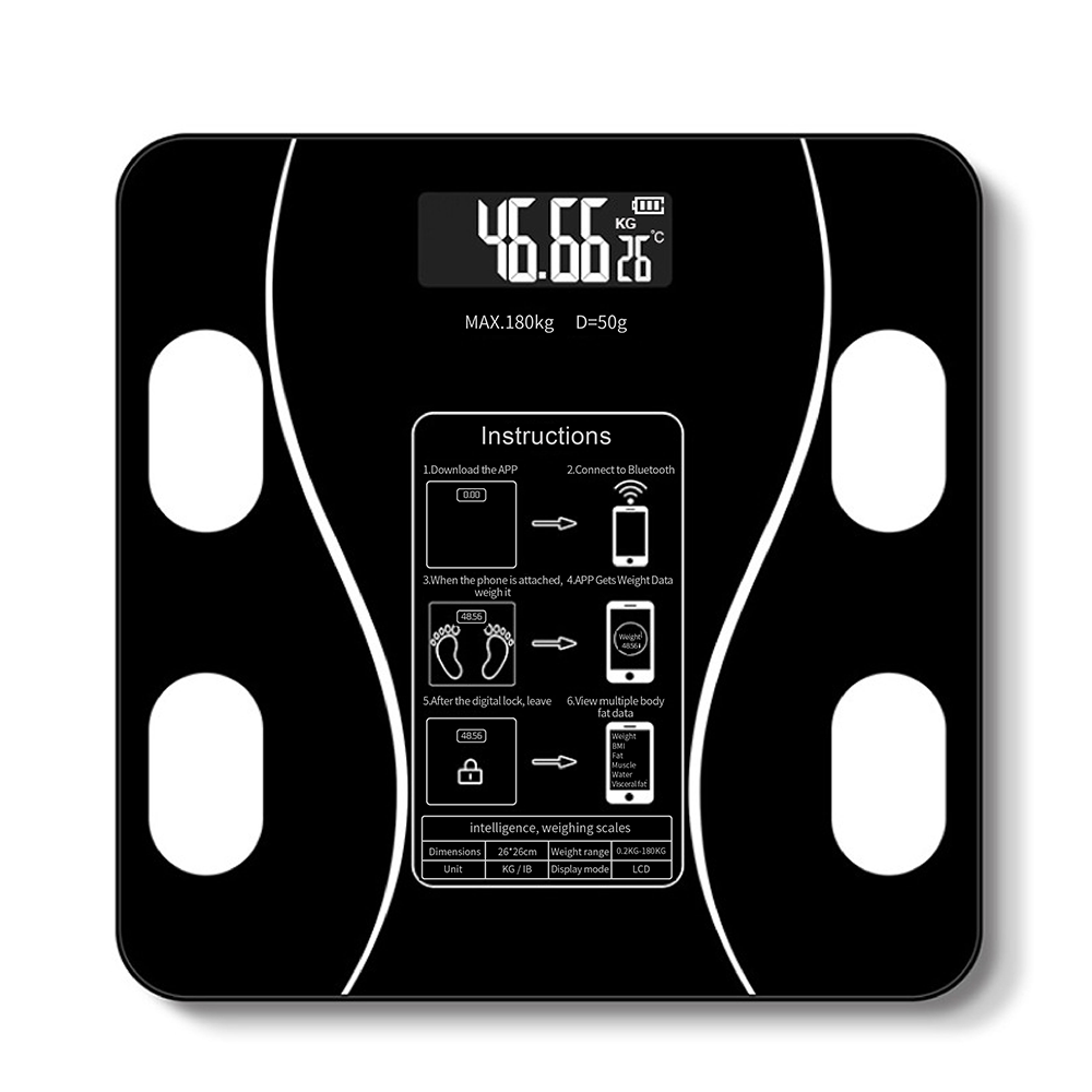 Bathroom Body Fat bmi Scale Digital Human Weight Mi Scales Floor lcd display Body Index Electronic Smart Weighing Scales
