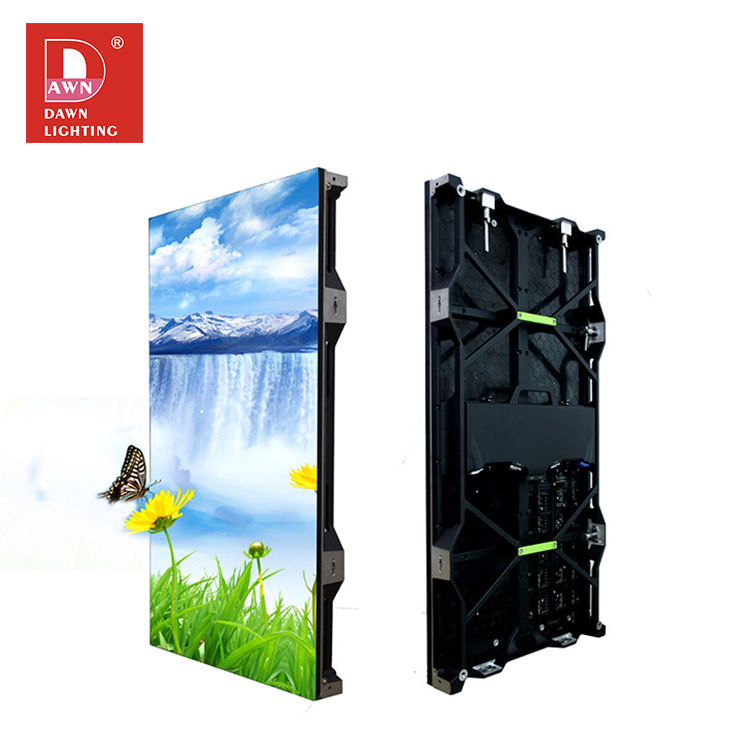 High brightness outdoor aluminum box body SMD full color IP66 P10 led display