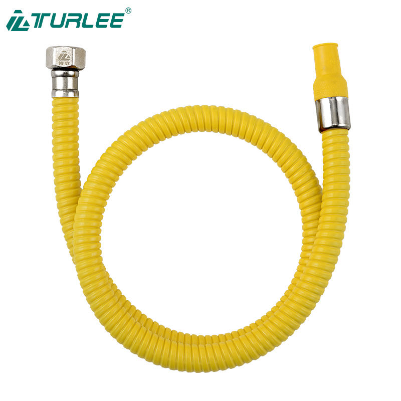 Gas-fired metal-clad hose hose for water and gas gas hose for stove 1.5meter