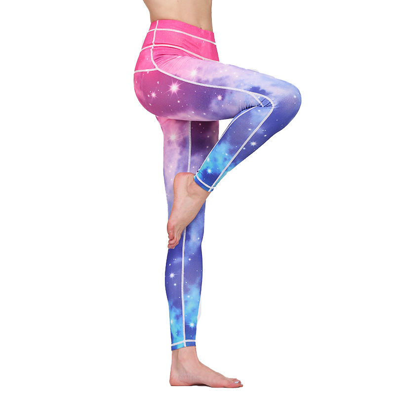 Frauen Sublimation Athletisch Lauf Workout Leggings