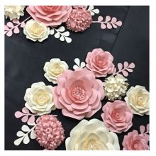 10cm-80cm giant wall wedding party festival decorate  paper Craft flowers