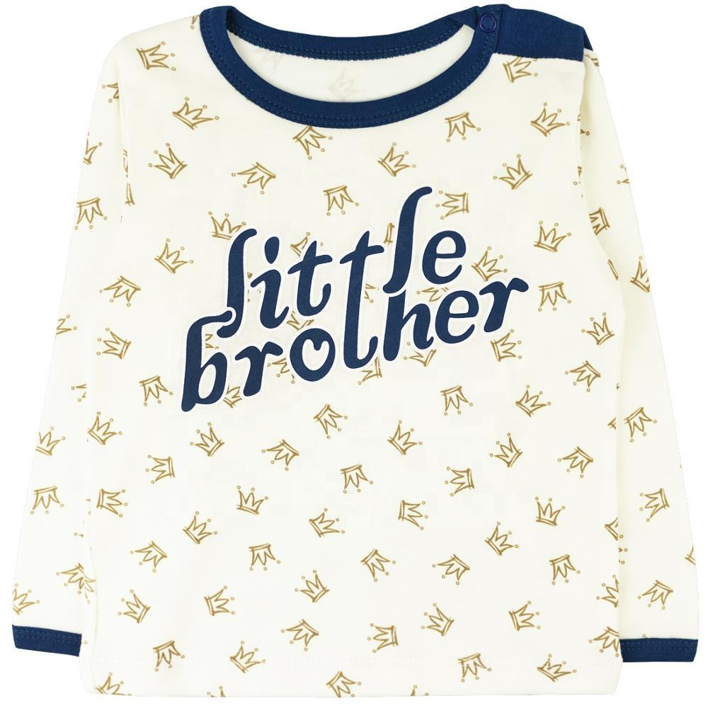 Christmas 5-18 month Long Sleeve Spring Summer Baby Infant Unisex Cotton Sweaters for brother / sister
