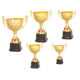 Champion league membership trophy awards metal cup trophies gold souvenir home decoration for multisport winner tournaments