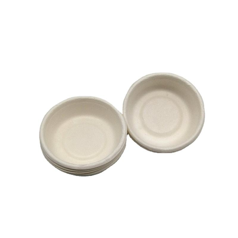 Hot Sale Medicine Disposable biodegradable Paper Souffle bagasse Cups 1 OZ