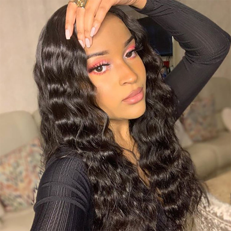 Bolin HD Transparent Human Hair Full Lace Wigs , Wholesale Cuticle Aligned Brazilian Virgin Remy Human Hair HD Lace Front Wigs