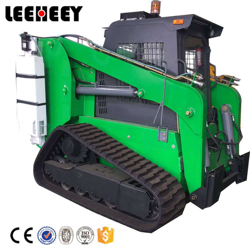 LHZ125 Crawler Skid Steer Loader 0.5 M3ถัง