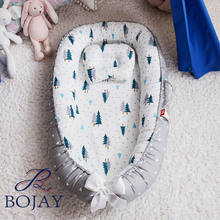 Wholesale Cute Pattern A Grade Super Soft and Breathable Portable Baby Lounger Nest Infant Newborn Cribs