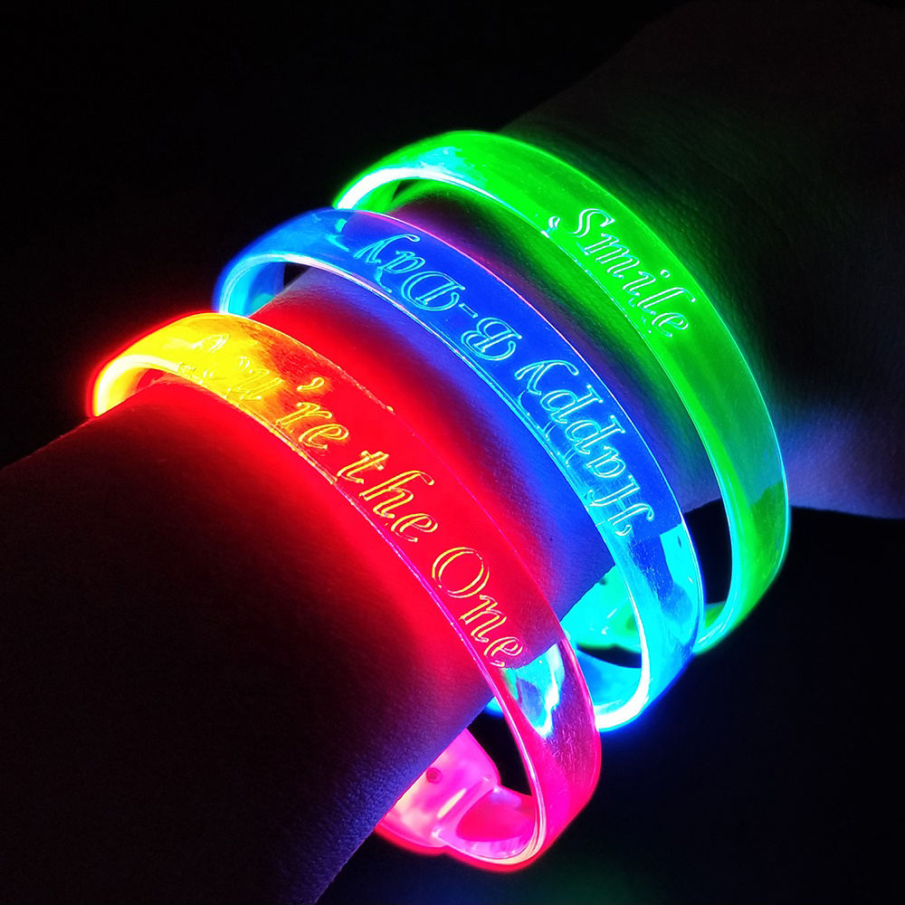 Cheap Products Led Sound Activated Bracelet Glow In Dark