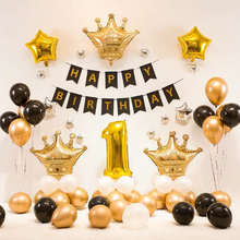 2020 hot sale Happy birthday party decorations Foil Balloon Gift Set