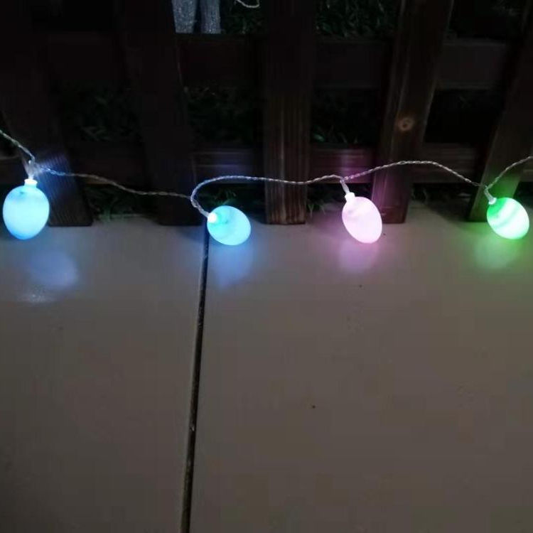 Festival holiday Party Home Decoration Easter Egg LED String Lights