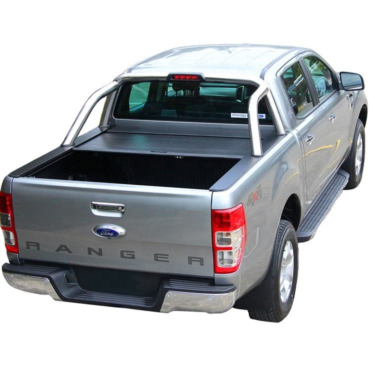 4x4 Aluminum roller shutter tonneau cover for pickup Ford Ranger T6 / T7 truck bed accessories