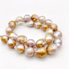 natural pearl different sizes baroque Edison real pearl necklaces