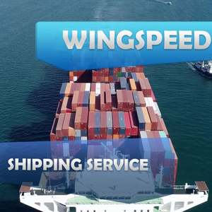 Low Price Cargo Express Courier Service Sea Shipping Containers Rate From China To Sweden France