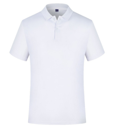 Custom Logo Printing Quick Dry Fit Shirts White Man Blank Ployster Polo T Shirt