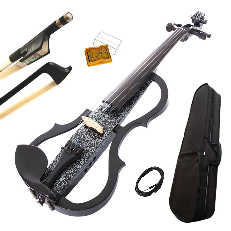 Top selling wholesale advanced products EQ 4/4 musical instruments electric violin