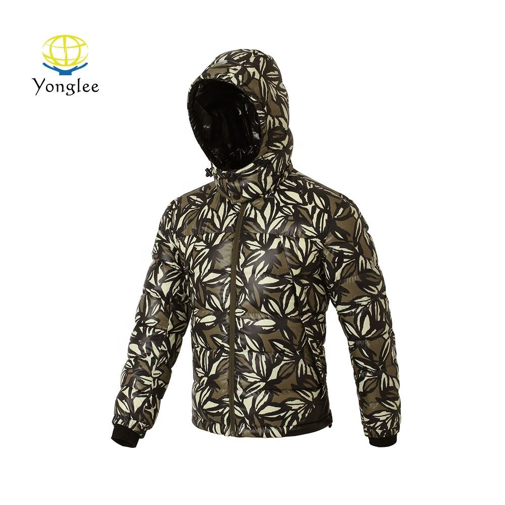 High Quality Lightweight Outdoor Wear Men Waterproof Down Jacket
