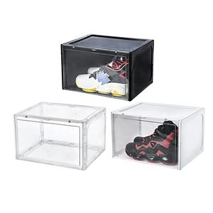 Empilable géant chaussure stockage transparent sneaker