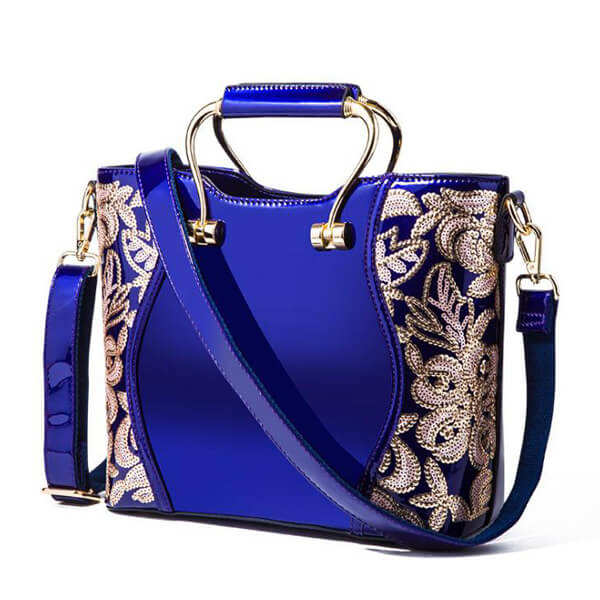 E2913 New Style Fashion High Quality lady tote bags blue handbags