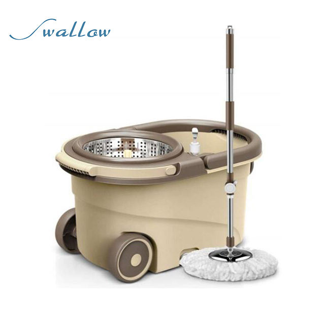 Household commercial 360 degree Spin rotating cleaning mop with Bucket With Wheels