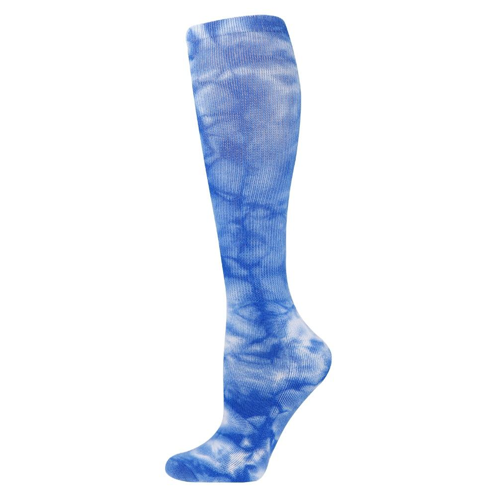 Customized colorful tie dye compression socks