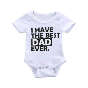 The Best Selling Best 18-24Months Daddy Mommy I Love Daddy Romper For Baby