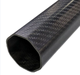 3K Full Carbon Fiber Octagon Tubes or Pipes 1.5mm Thickness