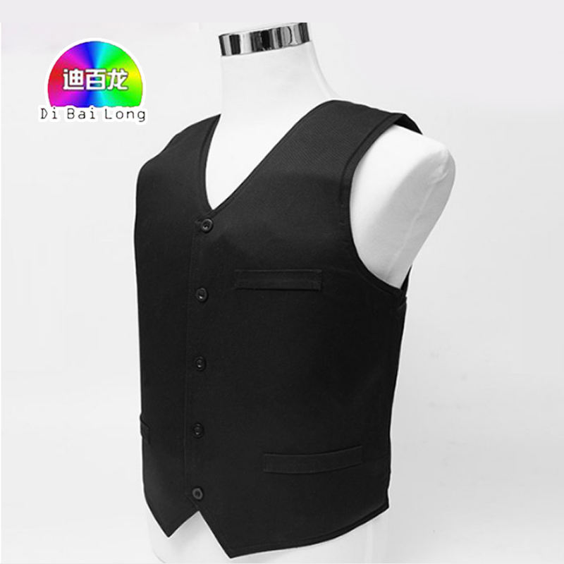 Black NIJ IIIA 3A and Level 2 Stab Concealable Aramid Bulletproof Vest