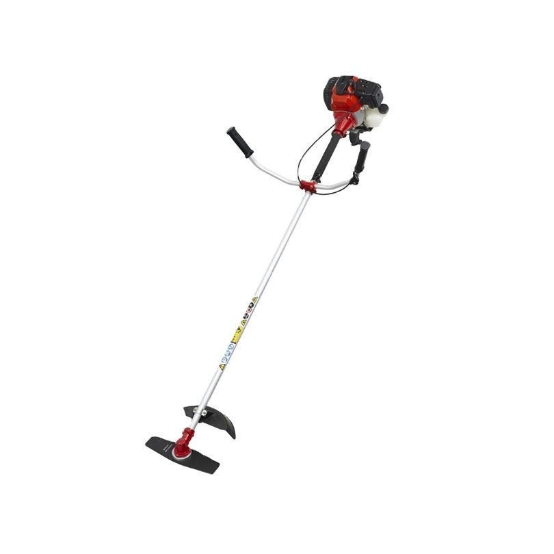 shoulder type grass trimmer 52cc gasoline manual brush cutter with certificate